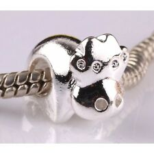 Cow Charm - Silver Tone - Suits Pandora Charm Bracelet - Animal Gift