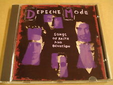 CD / DEPECHE MODE - SONGS OF FAITH AND DEVOTION