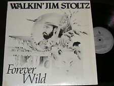 PRIVATE ISSUE Folk Country Lp WALKIN' JIM STOLTZ Forever Wild MONTANA Mountain M
