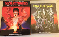 NIGHTBREED Blu-ray + DVD The Director's Cut Clive Barker W/Slipcover case