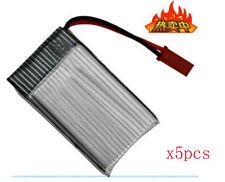 5pcs x 3.7V 1200mAh 25C Lipo Battery for rc Walkera 5G4Q3 5#10 4G1 HM-5G4-Z-21