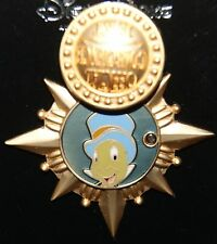 Disney JIMINY CRICKET OFFICIAL CONSCIENCE Hinged Pin Pinocchio New on Card