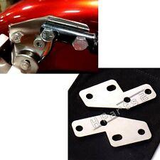 Stainless Bagger FL Rear Fender Grab Bar Eliminator Brackets For Harley Touring