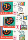 Stamp Australia save the children fund pse SINGPEX 94 cachet Mongolia group of 6