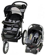 Baby Trend Expedition Travel System Stroller w Infant Car Seat & Base Phantom