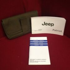2008 Jeep Patriot Owners Manual with supplements and case