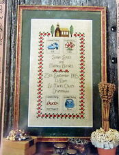 Cross Stitch pattern Wedding day Something Borrowed Blue Old New sampler