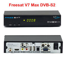 Genuine Freesat V7 Max 1080P Full HD DVB-S2 Digital satellite TV Receiver