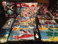 NEW SEALED LEGO Movie Star Wars Mixed Lot Chima Bionicle Bags Pen Keychain 100$+