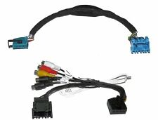 TV FREE + AV CABLE VIDEO IN BMW E38 E39 E46 E83 E53 E85 X3 X5 Z4 VIDEO IN MOTION