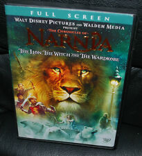 The Chronicles of Narnia Lion Witch & Wardrobe Full Screen Walt Disney DVD Movie