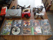 Sony PlayStation 1 PS1 Gray Console (NTSC - SCPH-5501) COMPLETE BUNDLE