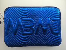 Marc By Marc Jacobs Small Clutch Accessories Case - NWT  Blue Metallic