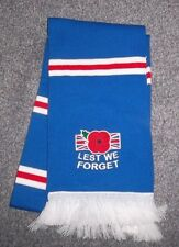 RANGERS FC LEST WE FORGET SCARF