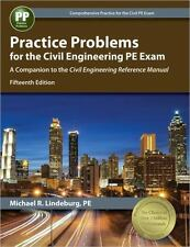 Practice Problems for the Civil Engineering PE Exam by Michael R. Lindeburg 15