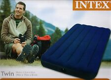 NEW ✔ Intex Twin Classic Downy Air Bed Inflatable Mattress Waterproof ✔ 68757