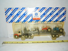 Ford Vintage Tractor Hauling Set  By Ertl    1/64th Scale