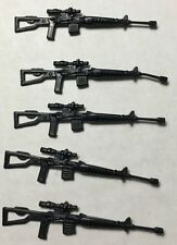 Black Major Custom GI Joe - COBRA Custom Dragunov Sniper 5 Gun Lot