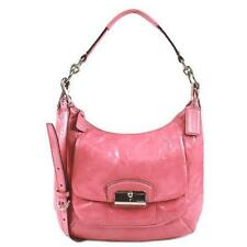 Coach 19299 Kristin Patent Leather Convertible Hobo Shoulder Bag (Rose Pink)