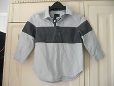 MINI BODEN - BLUE SHIRT - SIZE 3-4 YEARS