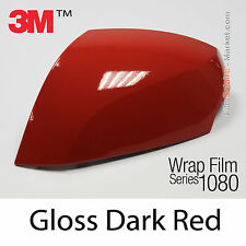 10x20cm FILM Gloss Dark Red 3M 1080 G83 Vinyle COVERING Car wrap series Wrapping