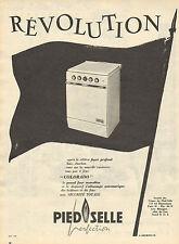 """Publicité 1959  Cuisinière tous gaz 4 feux  """"COLORADO""""  Pied Selle"""