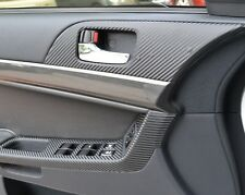 Mitsubishi Lancer Doorhandle Carbon Fiber Vinyl Trim