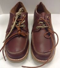 Timberland Earthkeepers Rugged Ox Oxford LT Brown Men 10.5 $130 NIB New TB09254B