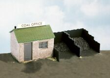 Wills SS15 Coal Yard Stone Hut Office 00 Gauge=1/76th Scale Plastic Kit 1st Post