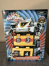 BANDAI Power  Rangers Turbo Deluxe Artillatron The Turbo Transport Megazord MISB