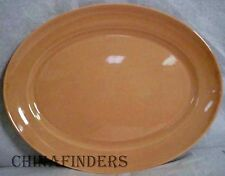 """FRANCISCAN China EL PATIO CORAL 11"""" Oval Meat Platter"""