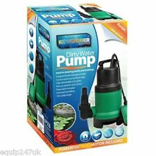 250W Compact Super Eco Energy Saving Submersible Dirty Water Pond Pump 10 metre
