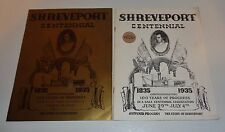 The Story of Shreveport, LA Centennial Holiday In Dixie 1835-1935 reprinted 1967