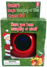 Santas Magic Naughty Or Nice Crystal Ball Magic 8 Ball Imaginary Kidz