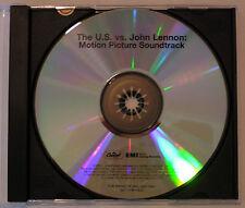 John Lennon 'The U.S vs. John Lennon Soundtrack' Advance CD-R Custom Recordable