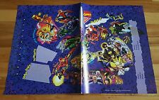 Marvel heroes & villains book cover 1994 nabisco