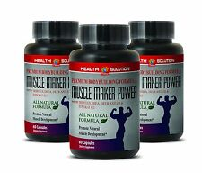 Gain Weight Supplement - MUSCLE MAKER PLUS - Increases Muscle Mass 3B