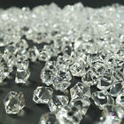 New 500 Clear Mini Acrylic Ice Crystals Wedding Table Scatters Decorations
