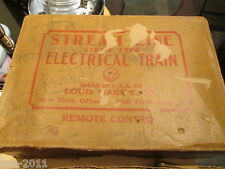 Vintage 1950s Stream Line Steam Type Electrical Train Remote Control Set by Marx