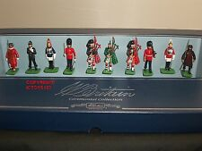 Britains 00093 tutte le Regine Uomini London cerimoniale METAL Toy Soldier Figure Set