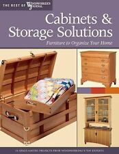 Cabinets & Storage Solutions: 16 Space-Saving Projects from Woodworkin-ExLibrary