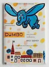 Dumbo (Poland) FRIDGE MAGNET (2 x 3 inches) movie poster elephant polish