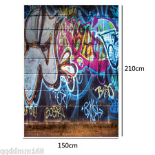 CP Vinyl Photography Background Backdrop Studio Prop 5X7FT TY49 Graffiti Wall