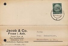 FROSE i. Anh., Postkarte 1939, Jacob & Co.