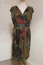 M&CO BOUTIQUE MULTI COLOURED DRESS SIZE 14 NEW WITH TAGS RRP £90