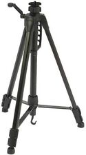 "BLACK 1.49M MAX CAMERA TRIPOD WITH 3/8"" 9.5MM THREAD FOR HEAD (NOT INCLUDED)"