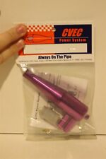 CVEC Z120 Light Purple Dual Exhaust System Brand New Sealed (CVEC Power System)
