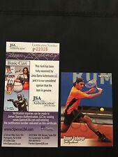 ROGER FEDERER 2003 NETPRO SIGNED AUTOGRAPHED CARD #90 TENNIS STAR JSA CERTIFIED