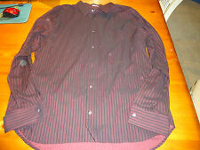 MENS CALVIN KLEIN CASUAL/DRESS SHIRT  XXL PURPLE