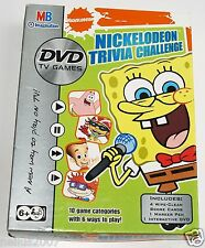 MB Nickelodeon Trivia Challenge DVD Family Party TV Game Spongebob Squarepants